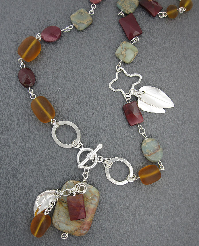 Faerie hollow studio jewelry necklaces with handmade silver chains pendants aloadofball Image collections